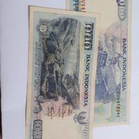 Uang lama Rp. 1000 tahun 1992