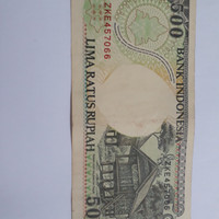 Uang lama Rp. 500,-