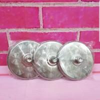 Tutup Gelas Stainless Steel 6 Pcs 8 CM