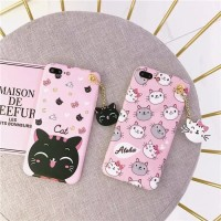 Softcase 3D Cat Kucing Ultra Slim Cover Case Casing HP Samsung J7 Max