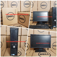 Paketan PC Komputer Dell 380 Core 2 Duo Fullset Seragam Ready Stok