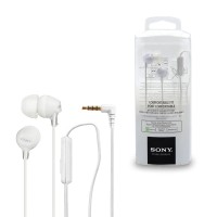 Sony Earphone With Microphone MDR - EX15AP