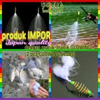pancing jaring bom net glowing - jaring ikan copper boom net PREMIUM