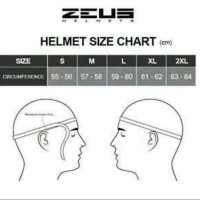 Helm Zeus 811 Al2 GP WHITE RED