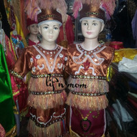 Baju papua dewasa adat nusantara