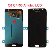LCD TOUCH SCREEN FOR SAMSUNG GALAXY J7 PLUS C8 ORIGINAL