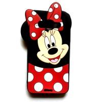 Karakter Boneka Minnie Mouse Polkadot 4D Case Samsung Grand Neo / Duos
