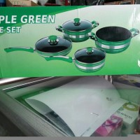 panci set apple green istimewa