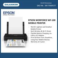 Printer Epson WF100 Mobile Portable Garansi Resmi Epson