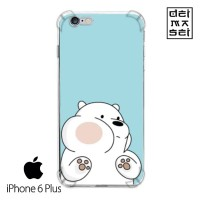 We Bare Bears Ice Bear 04 Casing Iphone 6 6s Plus Anti Crack Case HP