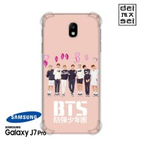 BTS 01 Casing Samsung Galaxy J7 Pro Anti Crack Anticrack Case HP