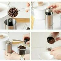 Gilingan kopi manual fleco f-G99 coffe grinder