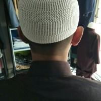 Gamis Jubah Pria Al Haramain ASLI SAUDI Warna Putih GRATIS PECI