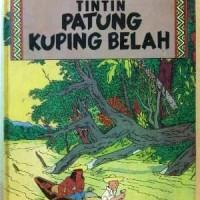 Komik Tintin Indira HARDCOVER : Patung Kuping Belah (cetakan