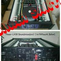 Murah Power Amplifier SoundStandar CA 30 ( 2 x 1500 watt 8ohm )