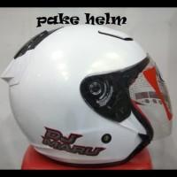 Best Price ! Helm Kyt Dj Maru Solid White Putih Djmaru ! ! ! !