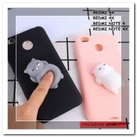 [HP] FOR XIAOMI REDMI 4A, 4X, NOTE 4, NOTE 4X - SQUISHY CUTE CAT SQUEE