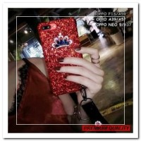 [HP] FOR OPPO F1S/A59, A39/A57, NEO 9/A37 - GLAM LUXURY CRYSTAL CROWN