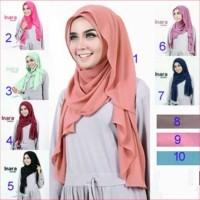 Jilbab model pashmina instan satu loop yang langsung pakai tanpa penit