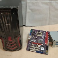 Komputer Cpu Rakitan Mb.G31 Ddr2 + Core 2 Duo E7300 2,6G 2nd