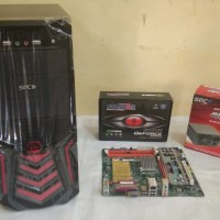 Komputer Rakitan CPU GAMER/DESIGN Mb.G31 Ddr3 + Core 2 Duo E8400 3,0G