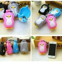 Harga unik dompet koin pinguin 3d pouch tas hp silikon korea w | Hargalu.com