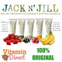 Jack n Jill Toothpaste Pasta Gigi Anak Bayi Organik