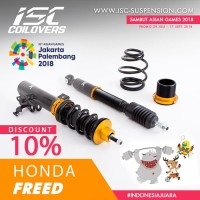 ISC COILOVERS HONDA FREED - BASIC SPORT