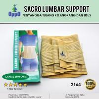 Oppo 2164 Lumbar Sacro Back Support Korset Tulang Belakang