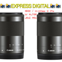 LENSA CANON EF-M 55-200 MM F/4-5 6.3 IS STM for eos M