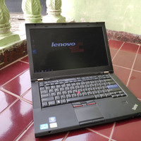 Laptop Desain Gaming Lenovo T420s Core i7 Ram 8 SSD Nvidia Mulus