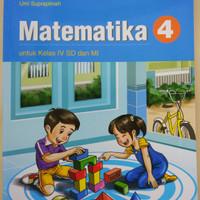 Buku Matematika Kelas 4 SD Kurikulum 2013 Lulus Penilaian Kemendikbud