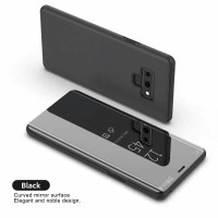 Flip Samsung Galaxy Note 9 Note9 CLEAR View Standing Cover Case ORI