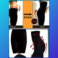 short legging import korset pelangsing susut lemak gym fitness jogging