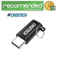 CHOETECH USB Type C to Micro USB Adapter Converter - Hitam