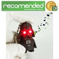 Gantungan Kunci Sound LED Model Darth Vader Stormtrooper Star Wars -