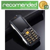 KUH T998 Handphone Multifungsi Power Bank - Hitam Emas