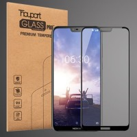 Tempered Glass 2.5D Full Cover Frame 9H Ultra Thin Premium HP Nokia X6