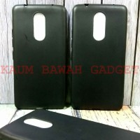 Case Matte Lenovo K6 Note/ K6+ Plus /K6 Power Soft Black Anti Minyak
