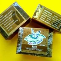 Sabun Herbal Kopi Scrub Alami Kesehatan Kulit Normal Dewasa Lyv 09