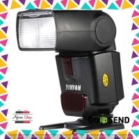 Yinyan Flash Kamera Zoom Speedlite 5600K Untuk DSLR Canon Nikon