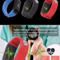 Smartwatch 4Connect 4Fit Blood Pressure and Oxygen Monitor Waterproo