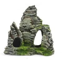 Ornamen Gunung Batu Untuk Dekorasi Akuarium / Tangki