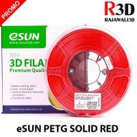 eSUN Filamen 3D Printer Filament PETG Solid Red 1.75 mm 1.0 kg