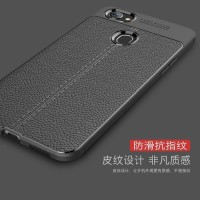 Softcase TPU Slim Leather Auto Fokus Cover Case Back Casing HP Oppo F7