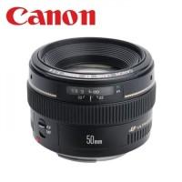 Lensa canon EF 50MM F1.4 USM ultrasonic garansi resmi canon datascrip