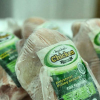 Frozen Organic Free Range Chicken / Ayam Beku Organik 1000 - 1100 Gr