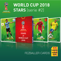 Kartu Bola Fezballer Cards edisi Star Players of World Cup 2018 #2