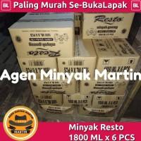Minyak Goreng Resto 1800 ML x 6pcs
