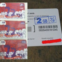 Voucher AIGO Axis 2 GB vocer data axis 2gb